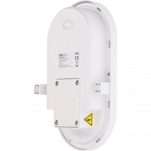 Shada LED Bulleye Buitenlamp 8W - 840 Lumen - IP54 - IK08