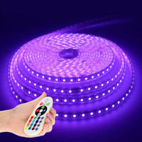 Lightexpert.nl LED Strip RGB 5M - Plug & Play - IP65 - Dimbaar