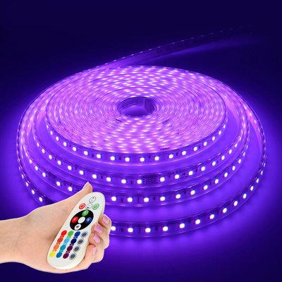 LED Strip RGB 5M - Plug & Play - IP65 - Dimbaar