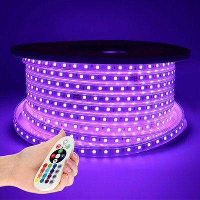 LED Strip RGB 50M - Plug & Play - IP65 - Dimbaar
