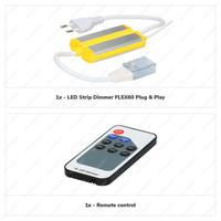 Lightexpert LED Strip Dimmer & Afstandsbediening