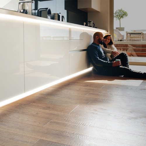 Lightexpert LED Strip 5M - Neutraal 4000K - Plug & Play - IP65 - Dimbaar