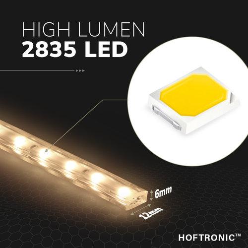 Lightexpert.nl LED Strip 2M - Neutraal 4000K - Plug & Play - IP65 - Dimbaar
