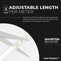 Lightexpert.nl LED Strip 10M - Cool 6000K - Plug & Play - IP65 - Dimbaar