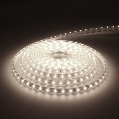 LED Strip 5M - Cool 6000K - Plug & Play - IP65 - Dimbaar