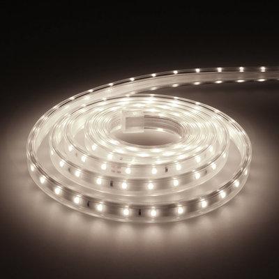 LED Strip 2M - Cool 6000K - Plug & Play - IP65 - Dimbaar