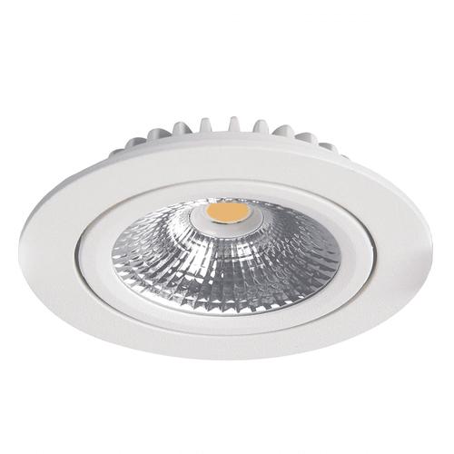 Lightexpert LED Inbouwspots Wit - 5W – IP42 – 2700K - Kantelbaar