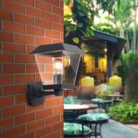 Lightexpert Buitenlamp Klassiek Zwart - E27