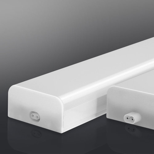 Lightexpert.nl T5 LED Armatuur 120CM - 24W - 6500K - Koppelbaar - Shadowless Serie