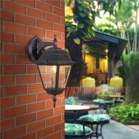 Lightexpert.nl Klassieke Buitenlamp Zwart  - IP44