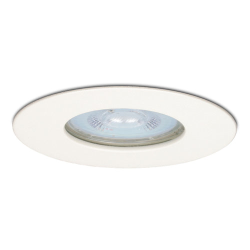 Lightexpert.nl LED Inbouwspot Wit - Bari - 5W - IP65 - 2700K - Dimbaar