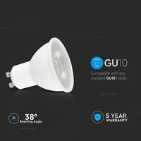 Energetic GU10 Led Lamp - 3 PACK Wit - 3,7W - Vervangt 35W