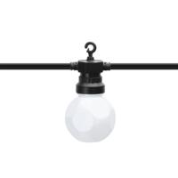 Lightexpert 8m LED Prikkabel  - IP44 Lichtsnoer Buiten - Light String - Milky Led