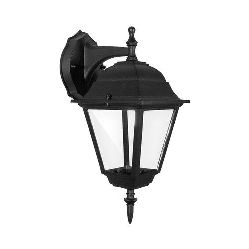 Lightexpert Klassieke Buitenlamp Zwart  - IP44