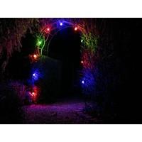Velleman 10m LED Prikkabel - IP44 Lichtsnoer Buiten - Light String - 20 E27 Fittingen