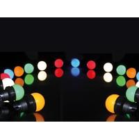 Velleman 11m LED Prikkabel - IP44 Lichtsnoer Buiten - Light String - 20 Gekleurde LEDs