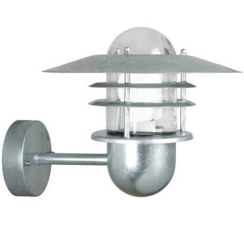 Nordlux Wandlamp Buiten Gegalvaniseerd - E27 Fitting IP54 - Agger