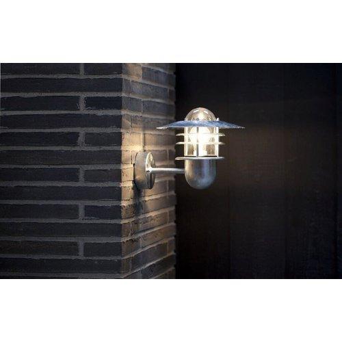 Nordlux Wandlamp Buiten Gegalvaniseerd - E27Fitting IP54 - Agger