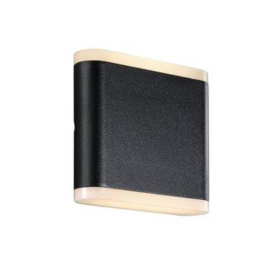 LED Wandlamp Buiten Zwart - IP54 3W LED - Akron 11