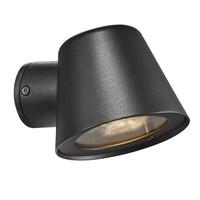 Nordlux Wandlamp Buiten Zwart - IP44 GU10 Fitting - Aleria