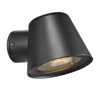 Wandlamp Buiten Zwart - IP44 GU10 Fitting - Aleria
