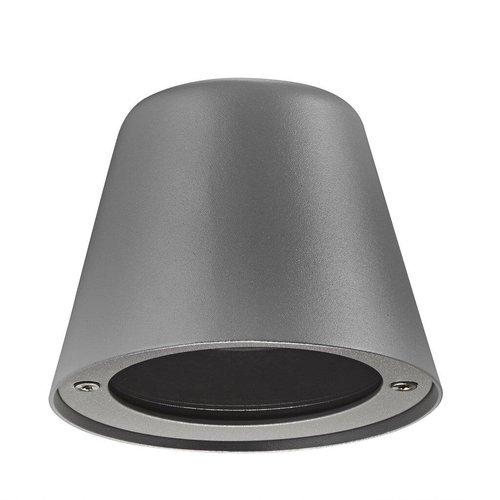 Nordlux Wandlamp Buiten Grijs - IP44 GU10 Fitting - Aleria