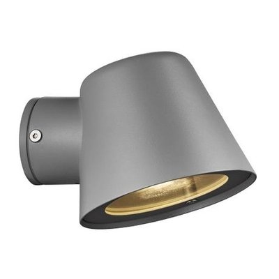 Wandlamp Buiten Grijs - IP44 GU10 Fitting - Aleria