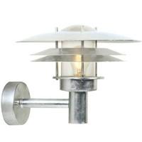Nordlux Wandlamp Buiten Gegalvaniseerd - E27 Fitting IP54 - Amalienborg