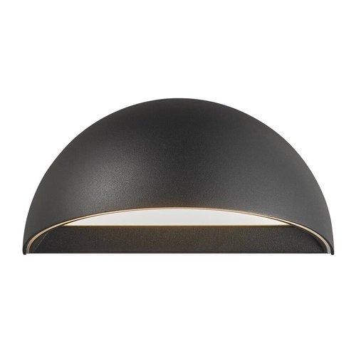 Nordlux Smart LED Wandlamp Buiten Zwart  - 9,5W LED IP54 - 2700K - Arcus
