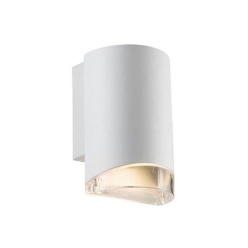 Nordlux Wandlamp Downlight - Wandlamp Buiten Wit - GU10 Fitting IP44 - Arn