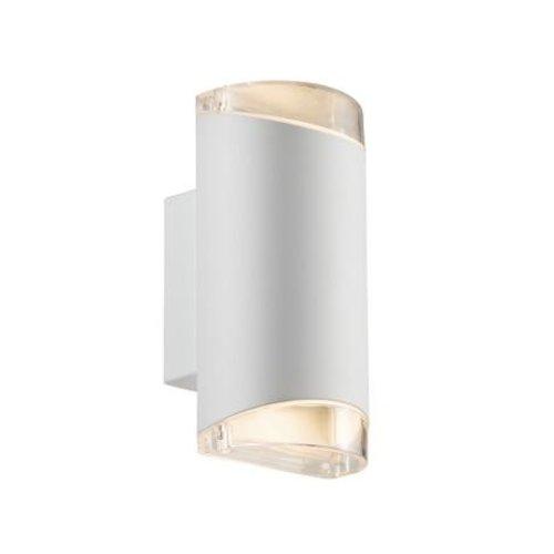 Nordlux Wandlamp Tweezijdig - Wandlamp Buiten Wit - GU10 Fitting IP44 - Arn