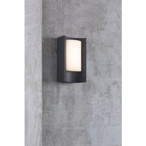 Nordlux LED Wandlamp Buiten Zwart-  3000K -  6W - Aspen