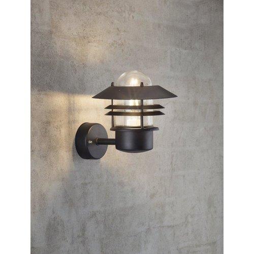 Nordlux Wandlamp Buiten Zwart-  E27 Fitting IP54 - Blokhus