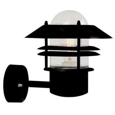 Wandlamp Buiten Zwart-  E27 Fitting IP54 - Blokhus