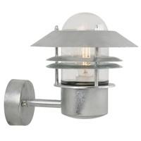 Nordlux LED Wandlamp Buiten Gegalvaniseerd-  E27Fitting - Blokhus