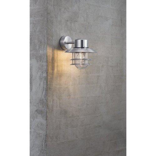 Nordlux LED Wandlamp Buiten Verzinkt-  E27 Fitting - Blokhus Down