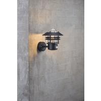 Nordlux LED Wandlamp Buiten Sensor Zwart-  E27 Fitting - Blokhus
