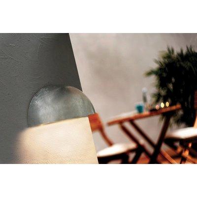 LED Wandlamp Buiten Verzinkt - IP44  E27 Fitting -Bowler