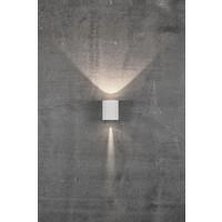 Nordlux LED Wandlamp Buiten Tweezijdig Wit - 2700K - 2x6Watt LED - Canto 2