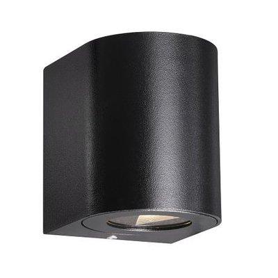 LED Wandlamp Buiten Tweezijdig Zwart - 2700K - 2x6Watt LED - Canto 2