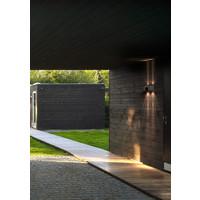 Nordlux LED Wandlamp Buiten Tweezijdig Roestvrijstaal - 2700K - 2x6Watt LED - Canto Kubi 2