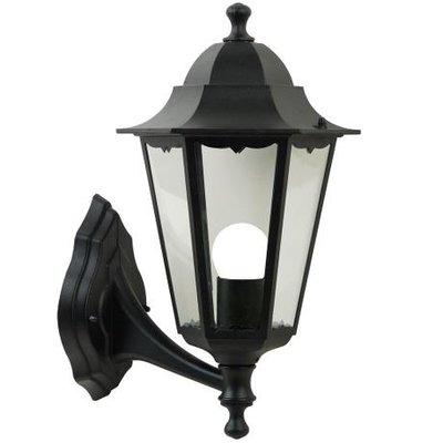 Wandlamp Buiten Zwart - IP44 E27Fitting- Cardiff