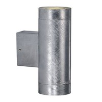 Nordlux LED Wandlamp Buiten Tweezijdig Verzinkt -2700K - 2 x 4,6W LED - Castor Maxi