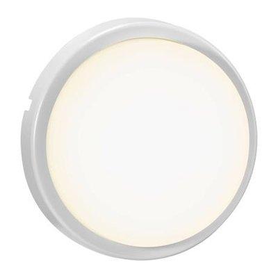 LED Wandlamp Buiten Wit -3000K - IP54 14W LED -Cuba Bright