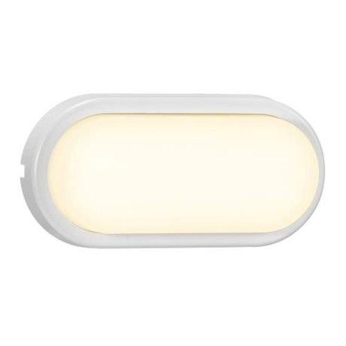 Nordlux LED Wandlamp Buiten Wit -3000K - IP54 14W LED -Cuba Bright