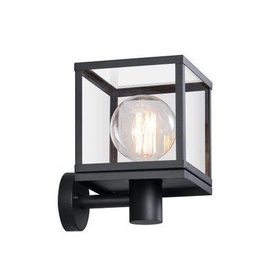 Wandlamp Buiten Zwart - IP44 E27 Fitting- Dalton