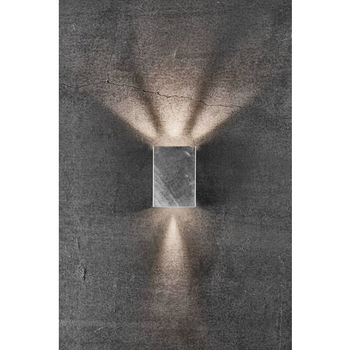 Nordlux LED Wandlamp Buiten Gegalvaniseerd - 2x3,5W LED - 3000K - Fold 10