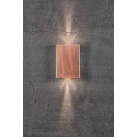 Nordlux LED Wandlamp Buiten Koper - 2x3,5W LED - 3000k - Fold 15