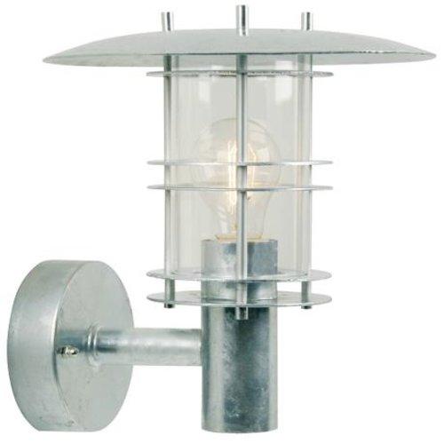 Nordlux Wandlamp Buiten Gegalvaniseerd -E27Fitting - Fredensborg