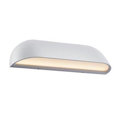 LED Wandlamp Buiten Wit -8Watt LED - IP44 - Front 26